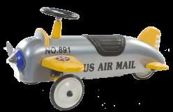Retro Roller Flugzeug Charles